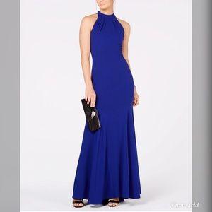 NWT Xscape Womens Halter Long Dress Gown X144
